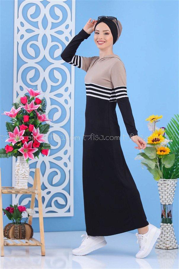فستان اسود بيج - 03 5147