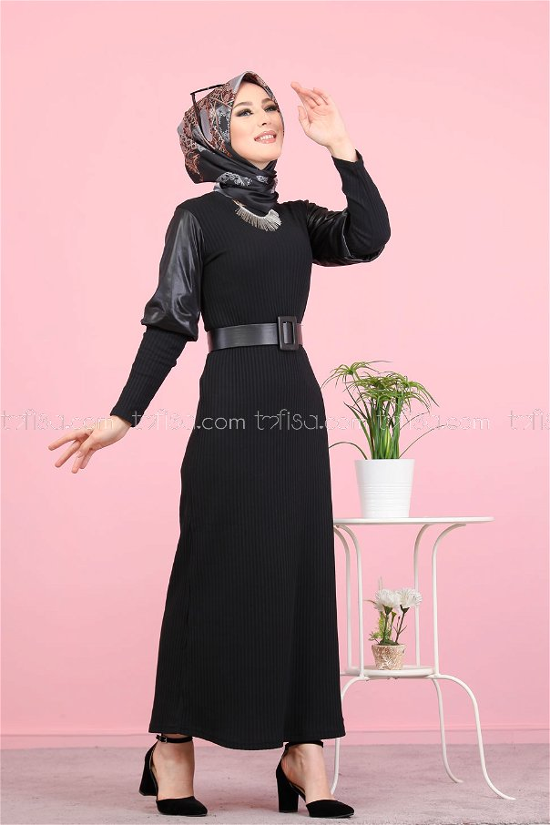 فستان اسود - 1353