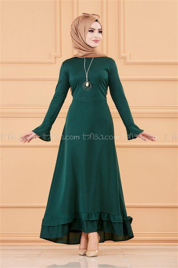 فستان لون زمرد 1363
