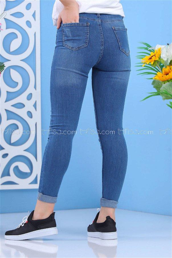 ( 2 pieces ) ** Pants Jeans Blue - 02 7517