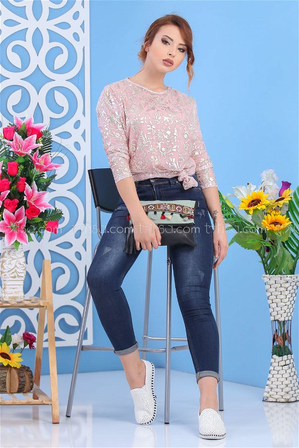 ( 2 pieces ) ** Tunic and bag Combine Minter 02 7553