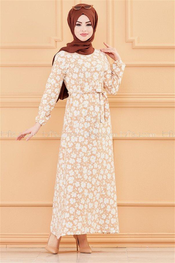 فستان زهرة بيج - 20005
