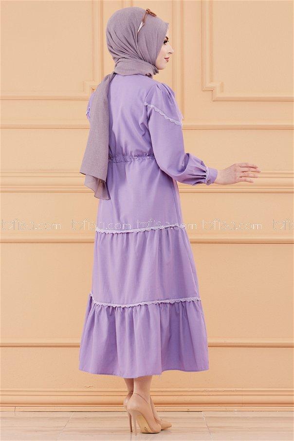 فستان لون ليلكي 20070