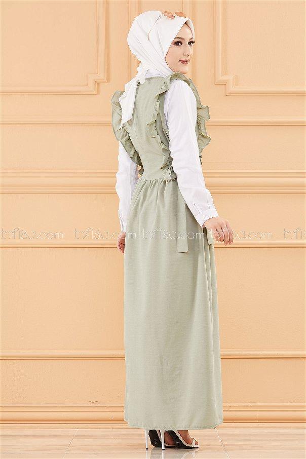 فستان لون ازرق فاتح 20088