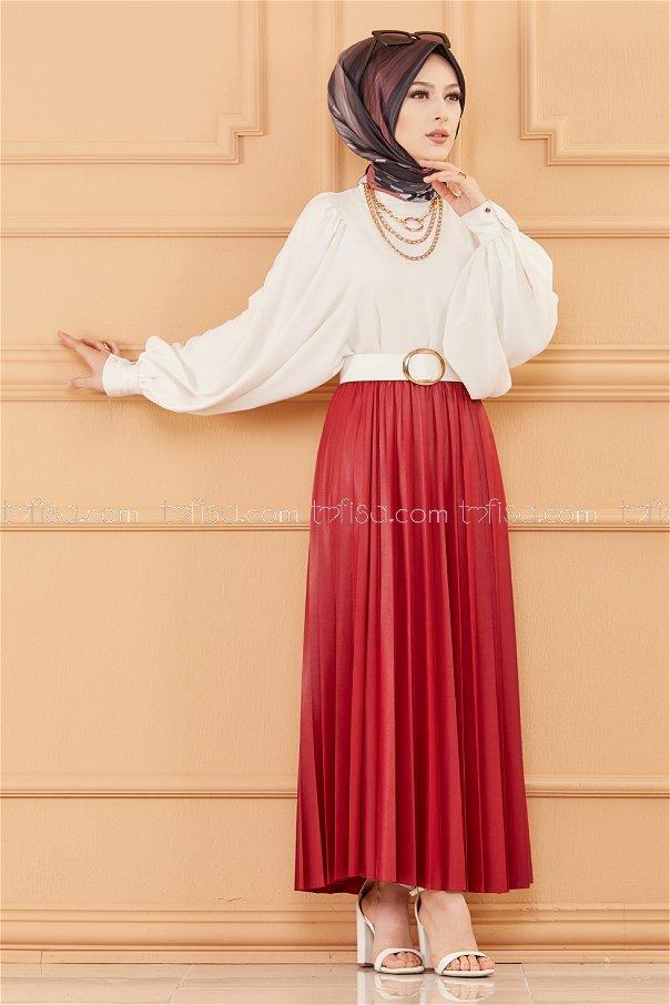 تنورة لون زهري 20090