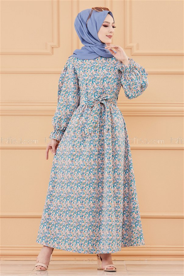 فستان لون اورنج 20107