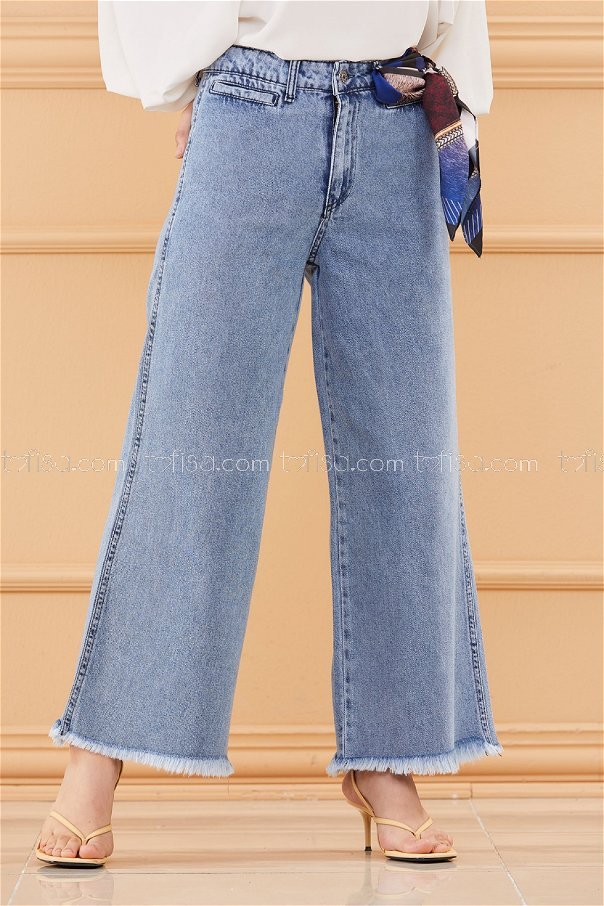 بنطلون جينز لون ازرق 20560
