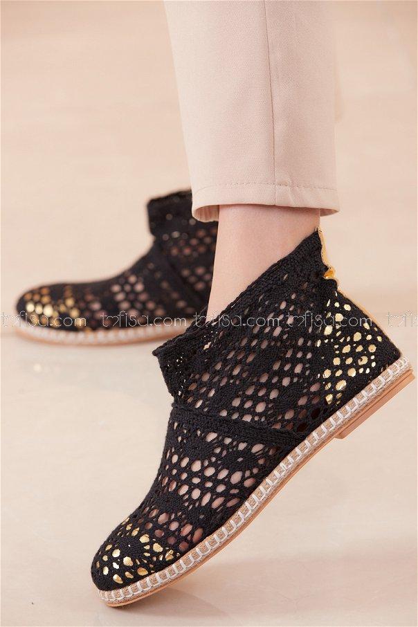 حذاء شبكي لون اسود 20566