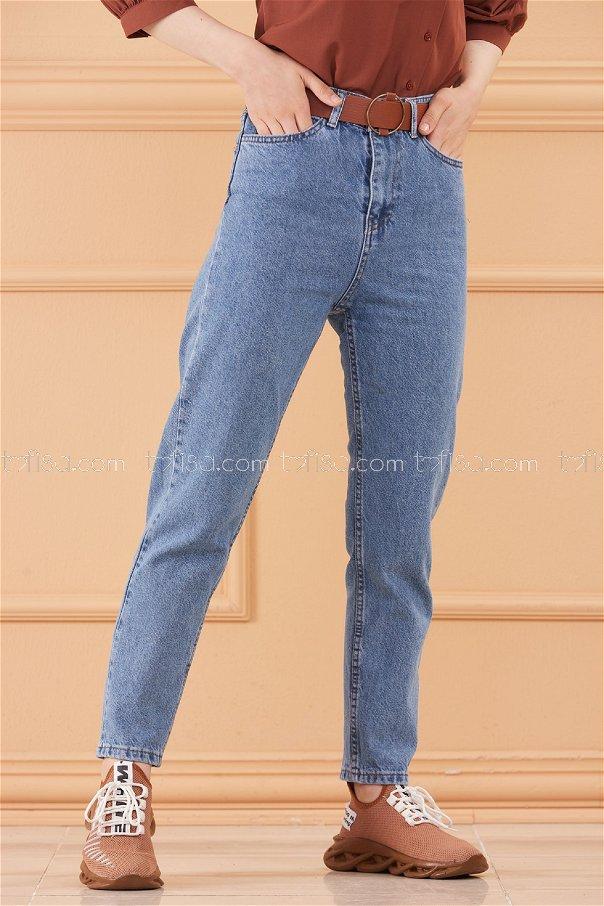 بنطلون جينز لون ازرق 20568