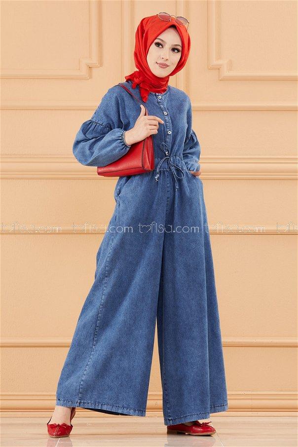 افرول جينز لون ازرق 20650