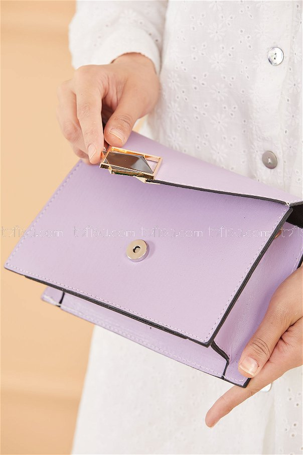 حقيبة لون ليلكي 20670