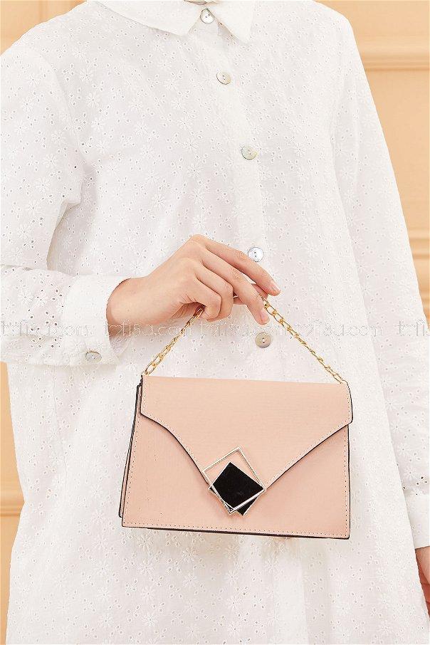 حقيبة لون زهري فاتح 20670