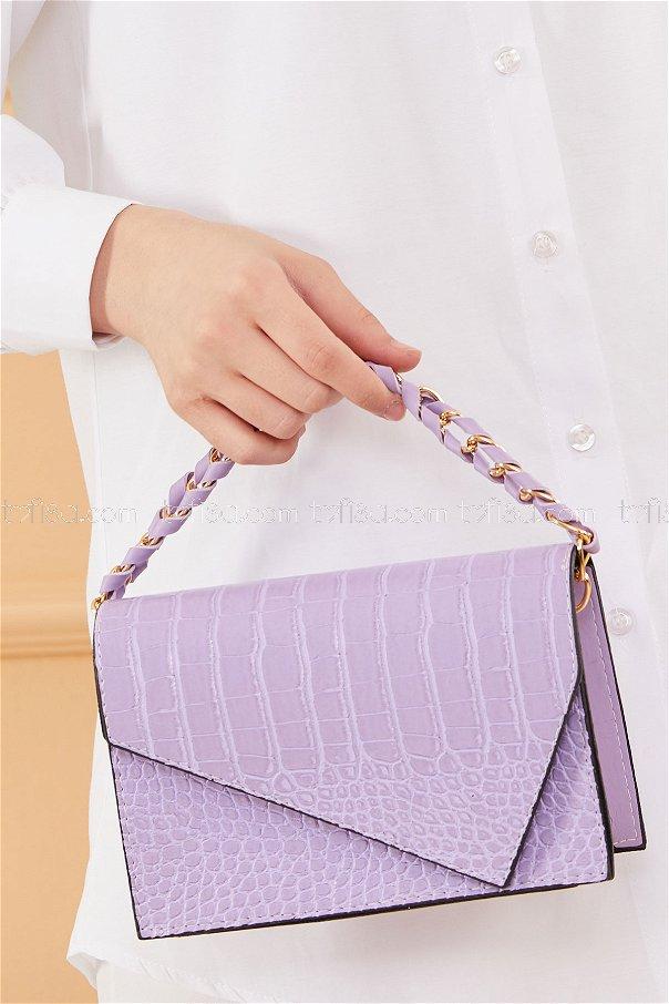 حقيبة لون ليلكي 20671