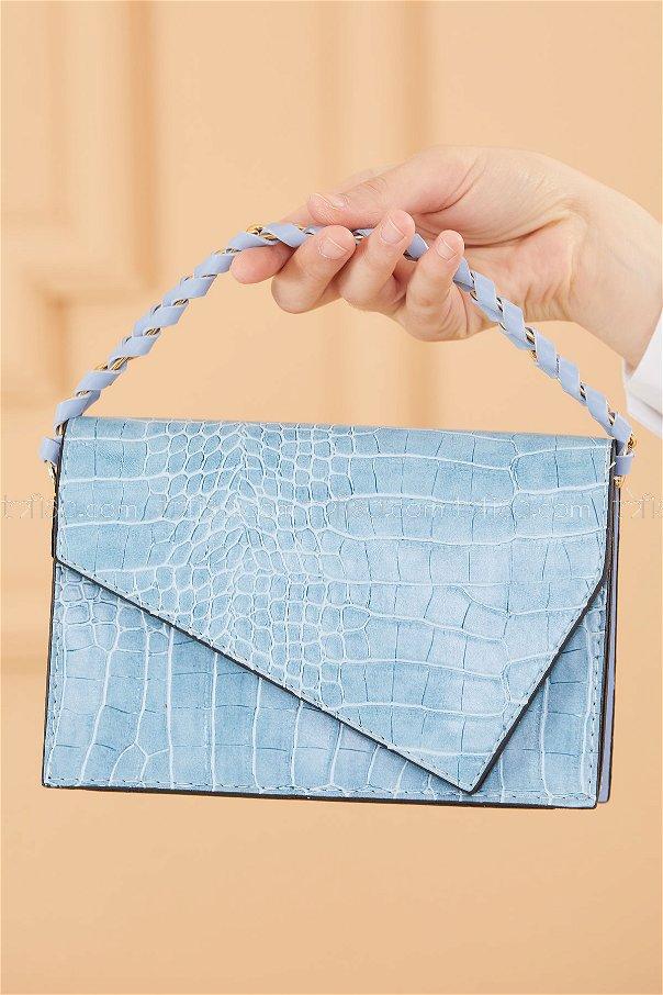 حقيبة لون ازرق فاتح 20671