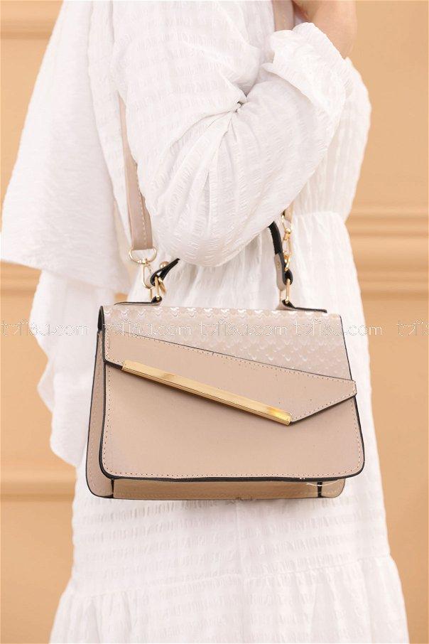 حقيبة لون بيح 20685