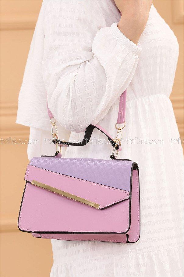 حقيبة لون ليلكي 20685