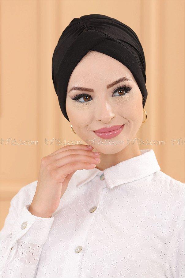 حجاب لون اسود 30039