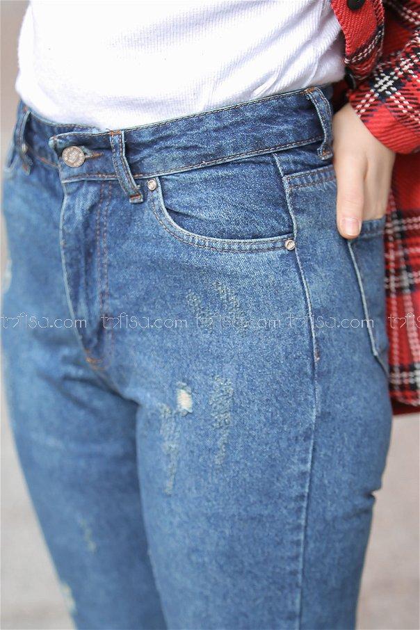بنطلون جينز ازرق - 8303