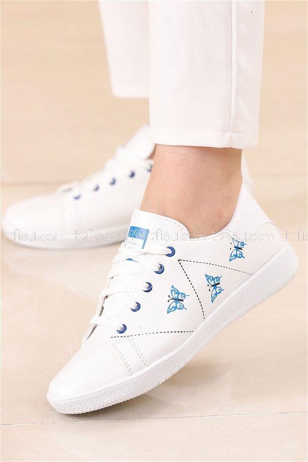 حذاء سبور لون ازرق 8840