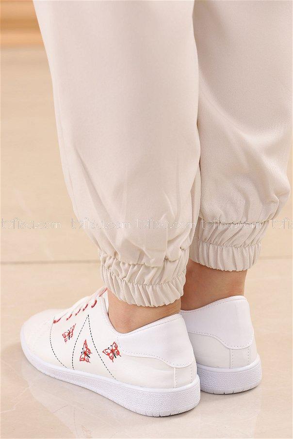 حذاء سبور لون قرميد 8840