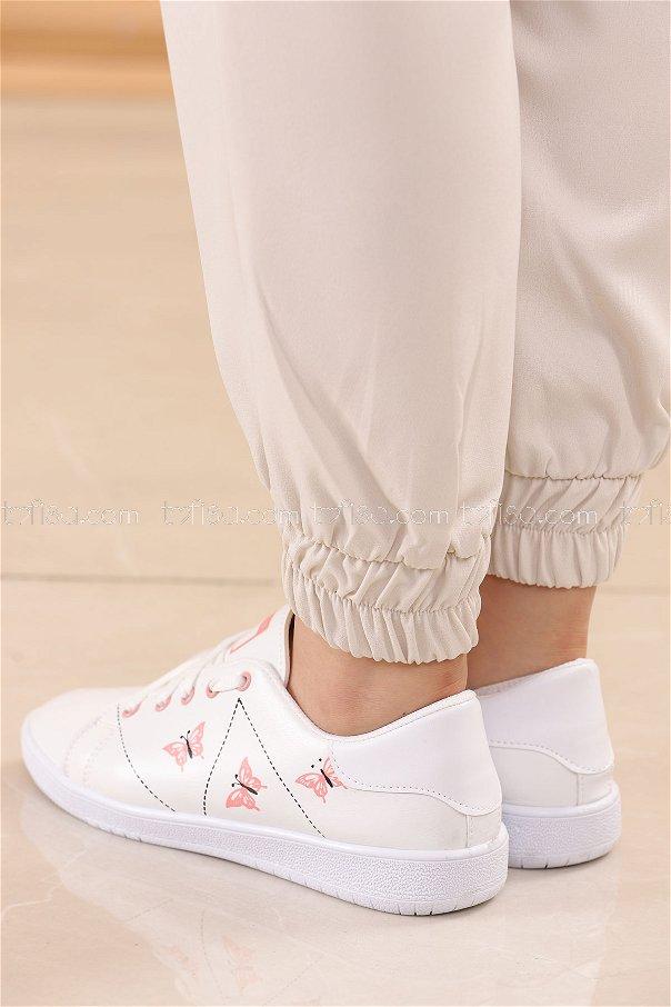 حذاء سبور لون زهري 8840