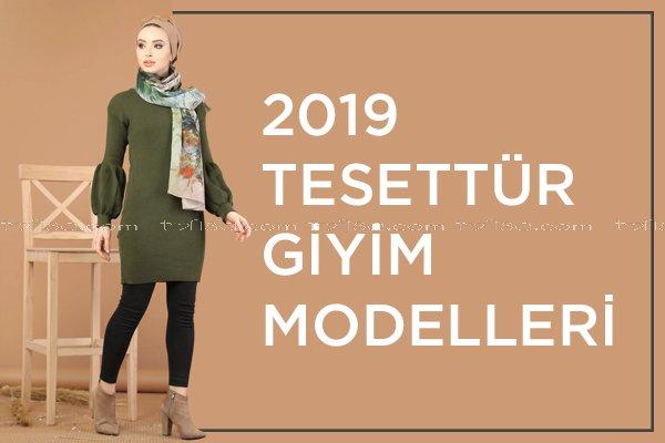 2019 Tesettür Giyim Modelleri