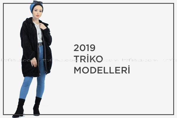 2019 Tesettür Triko Modelleri