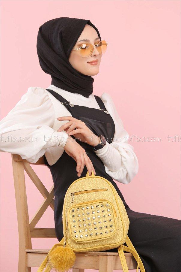 Askılı Elbise Siyah - 3006