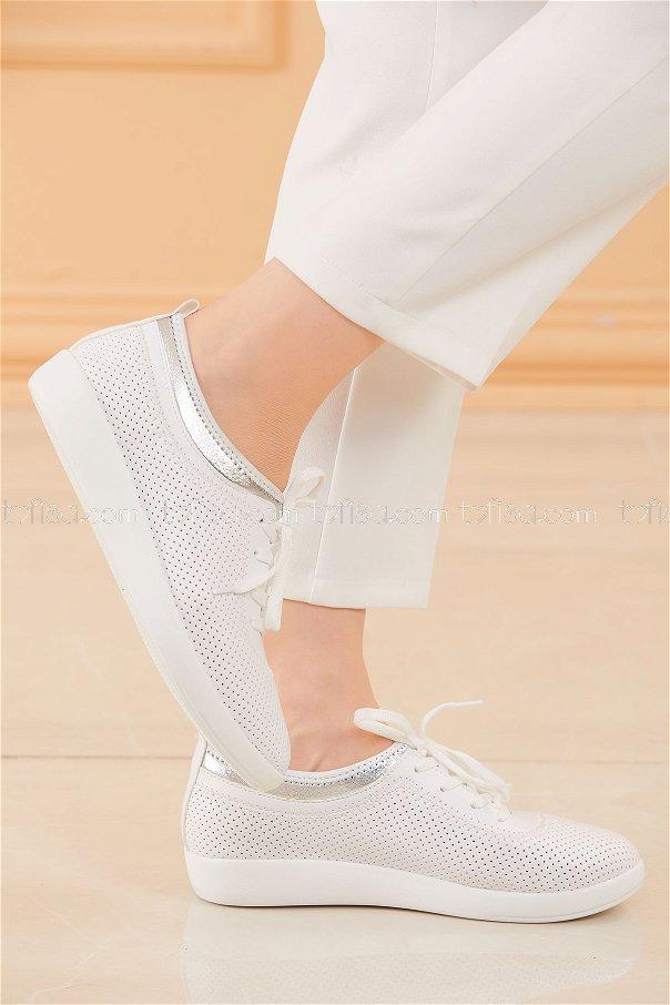 Ayakkabı BEYAZ - 20581