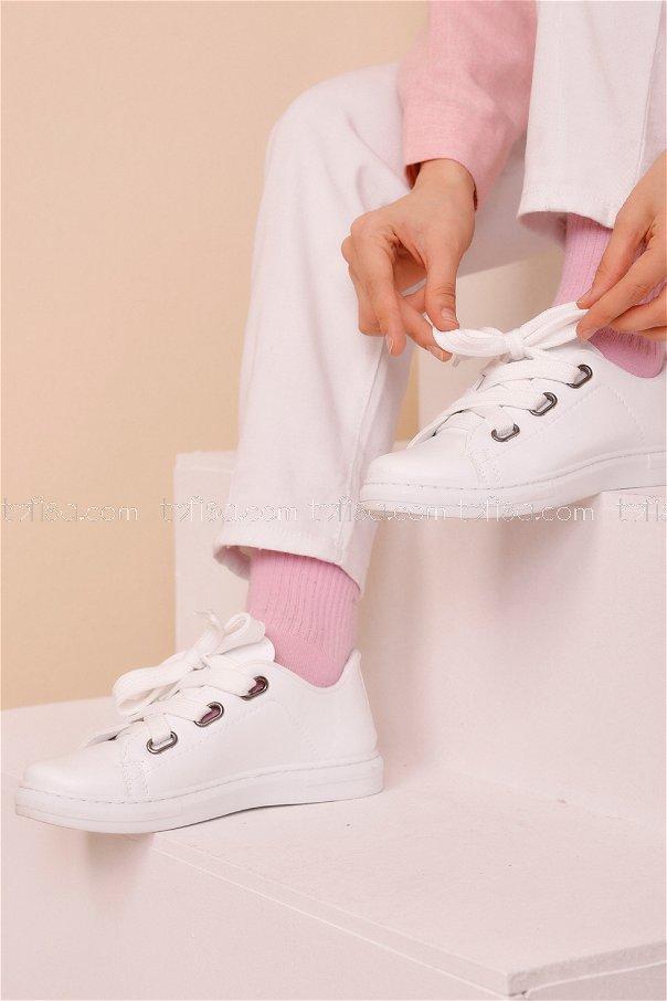 Ayakkabı BEYAZ - 8712