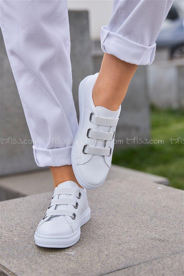 Ayakkabı Beyaz - 8713
