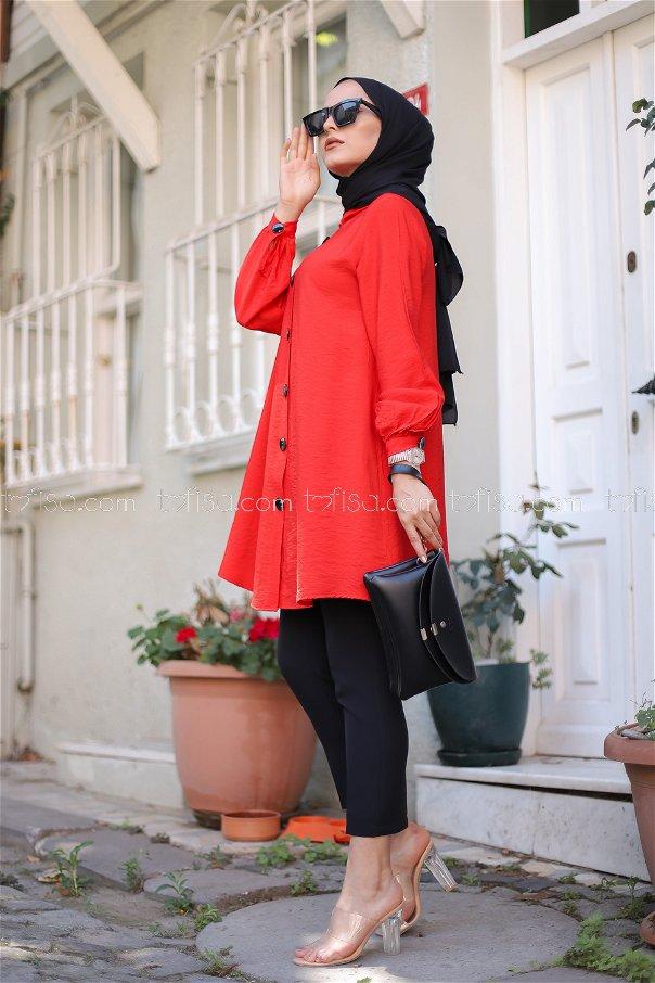 Gömlek Kırmızı - 3042