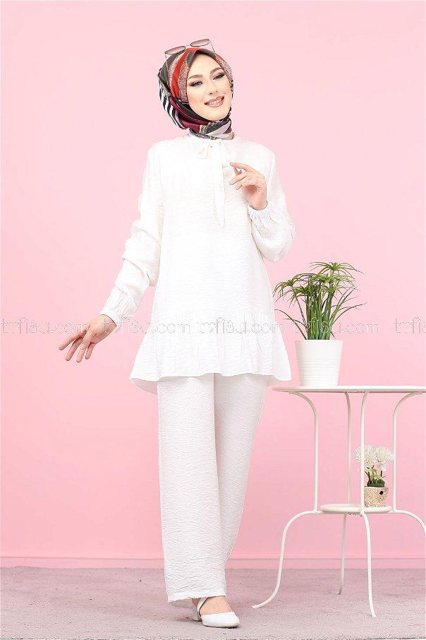 Tunik Beyaz - 3077