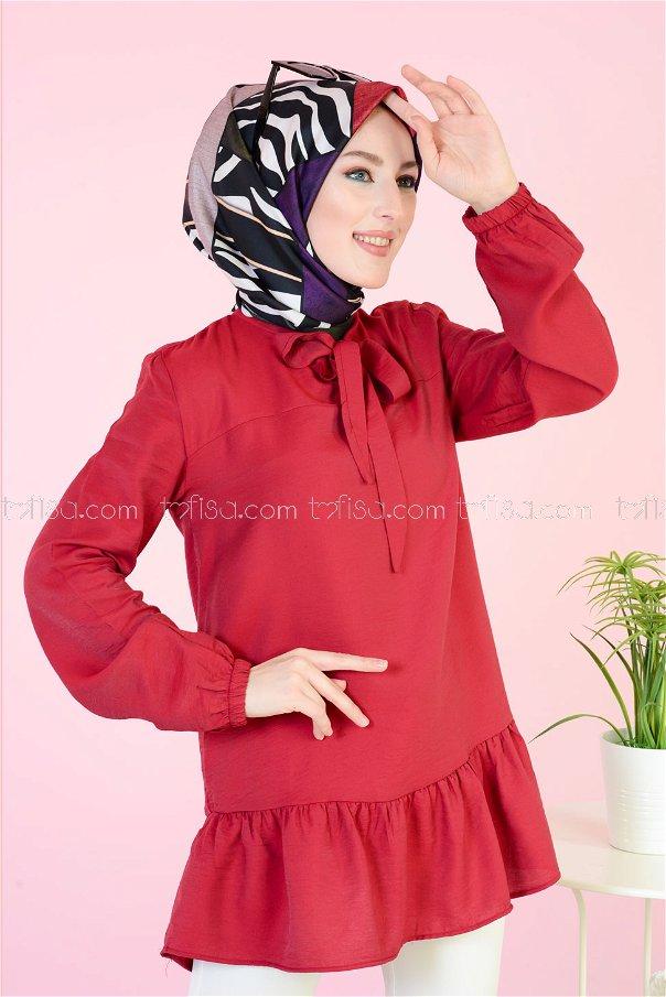 Tunik Kırmızı - 3077