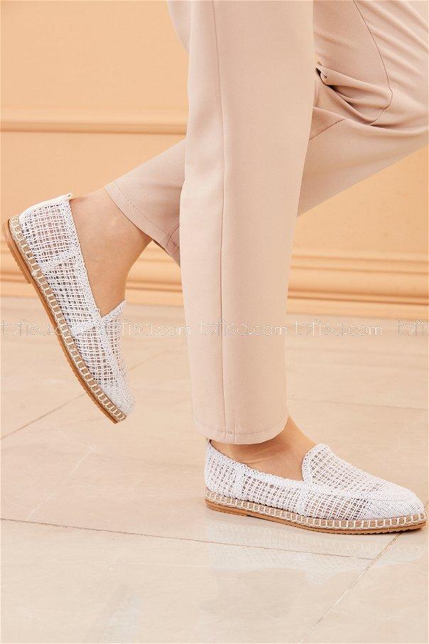 Babet Des,Ayakkabı BEYAZ - 20206