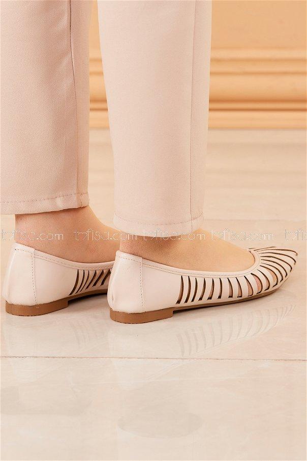 Babet Ayakkabı BEJ - 20203