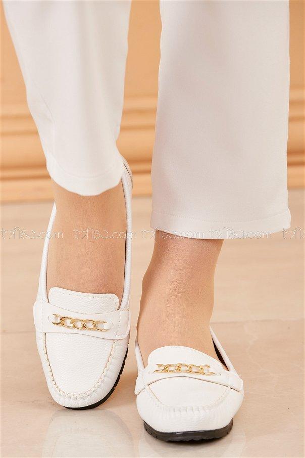 Babet Ayakkabı BEYAZ - 20229