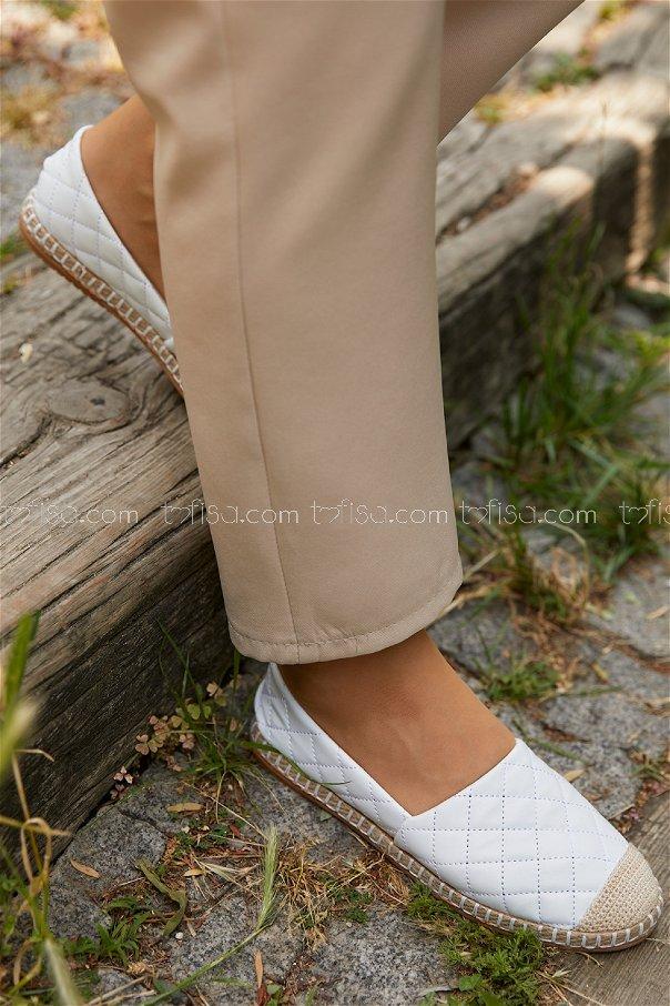 Babet Ayakkabı BEYAZ - 20392