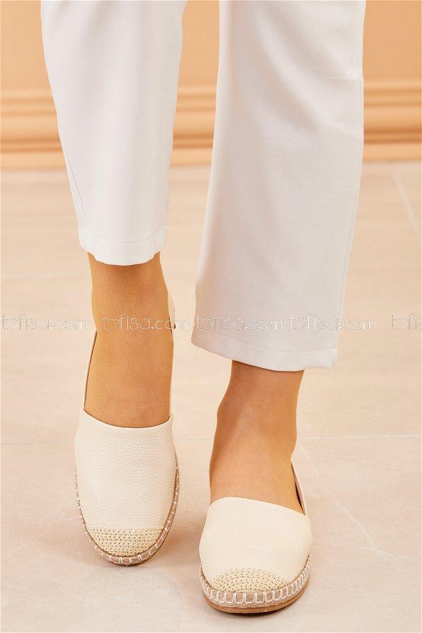 Babet Ayakkabı BEYAZ - 20412