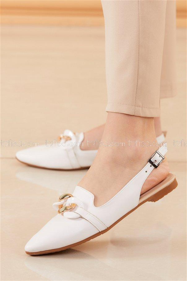 Babet Ayakkabı BEYAZ - 20532