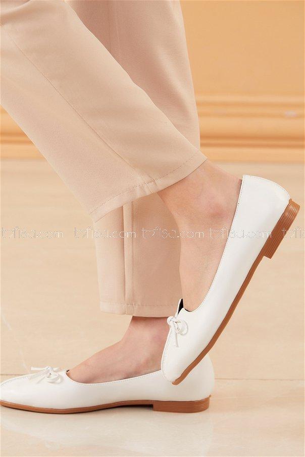 Babet Ayakkabı BEYAZ - 20536