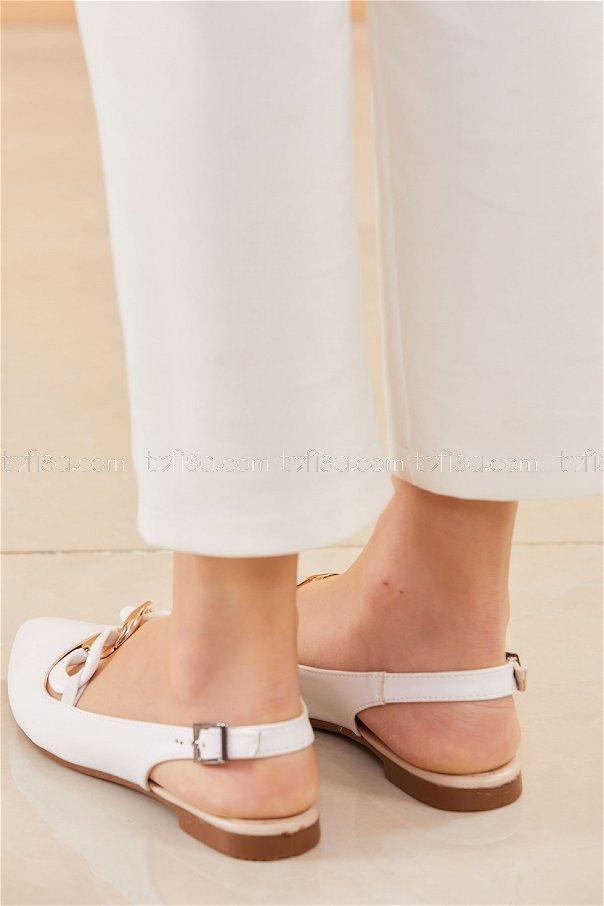 Babet Ayakkabı BEYAZ - 20664