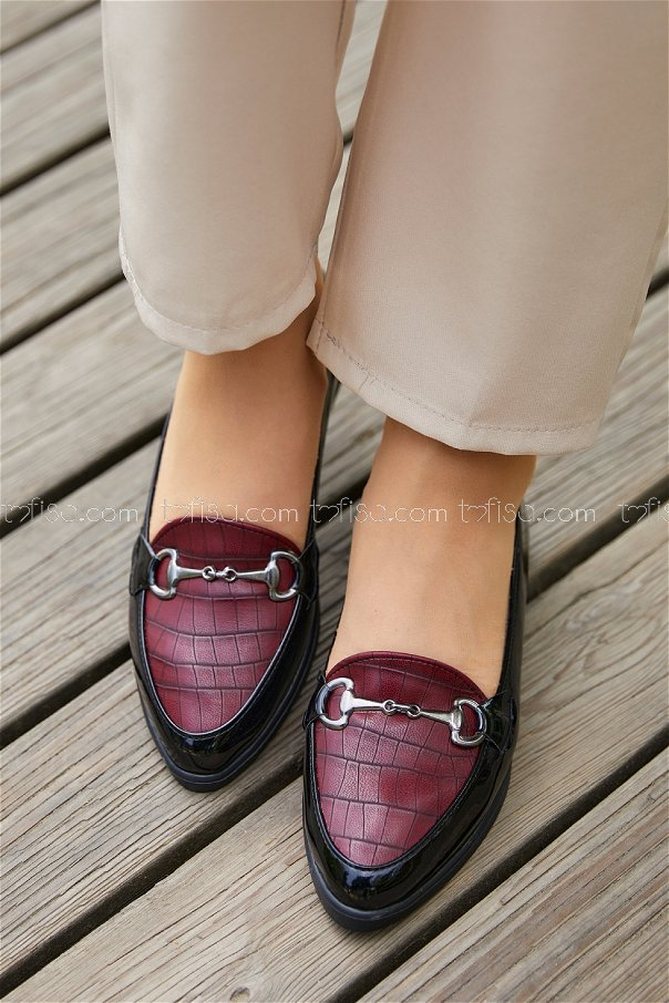 Babet Ayakkabı BORDO - 20399
