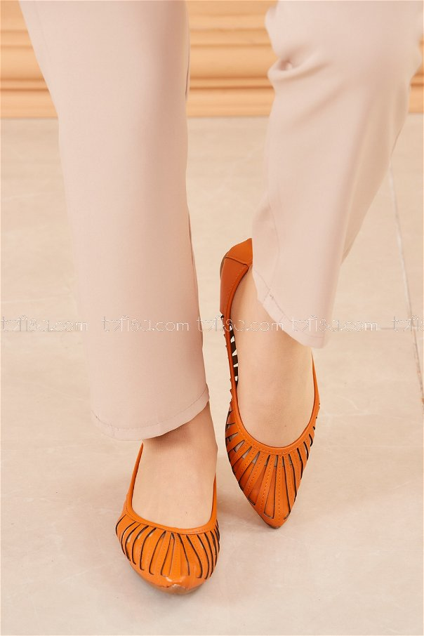 Babet Ayakkabı KIREMIT - 20203