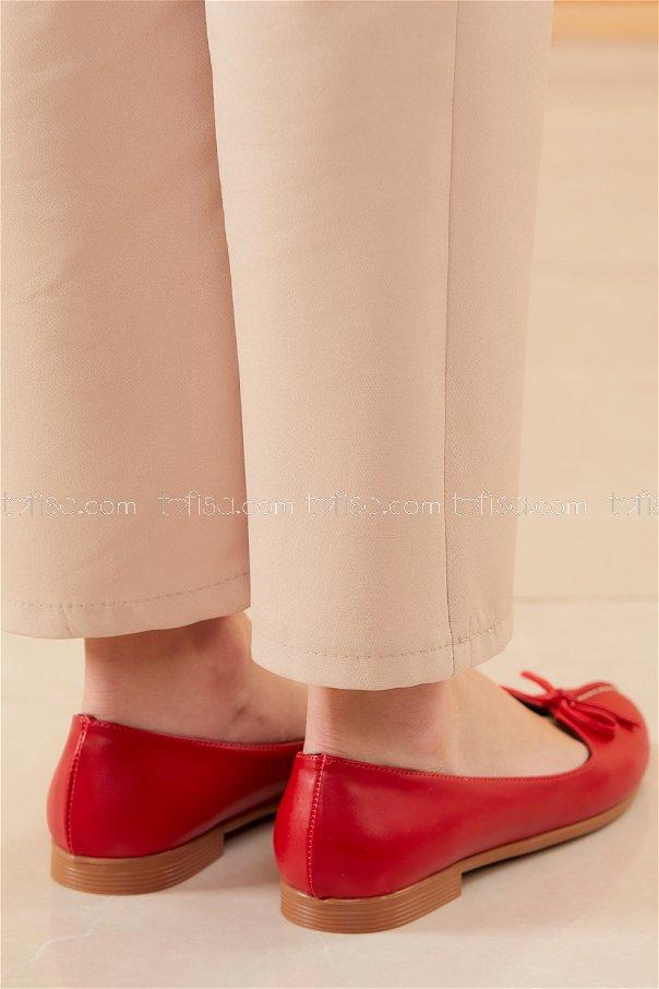 Babet Ayakkabı KIRMIZI - 20536