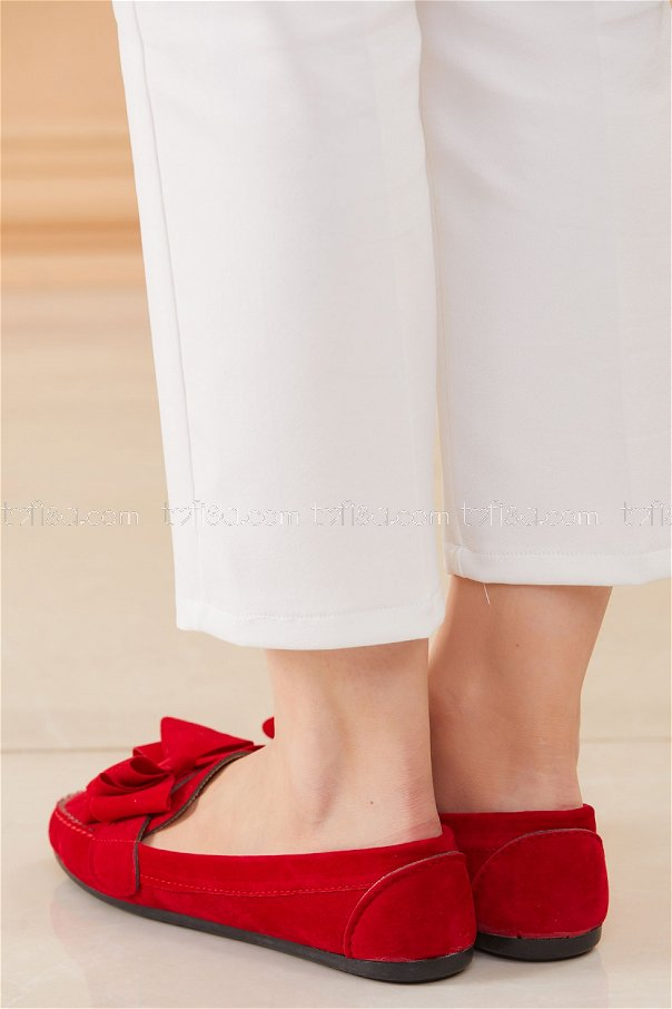 Babet Ayakkabı KIRMIZI - 20627
