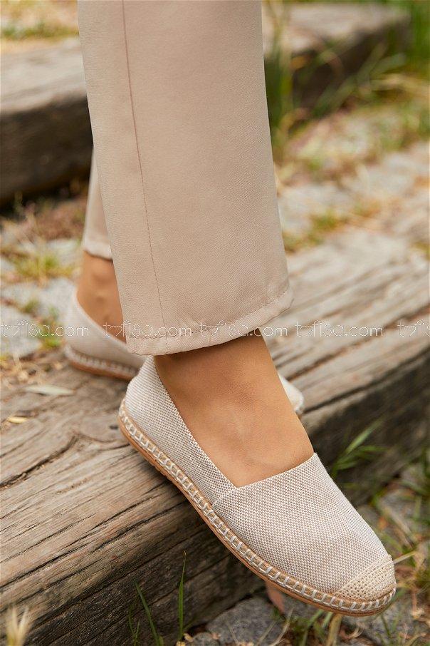Babet Ayakkabı KREM - 20391