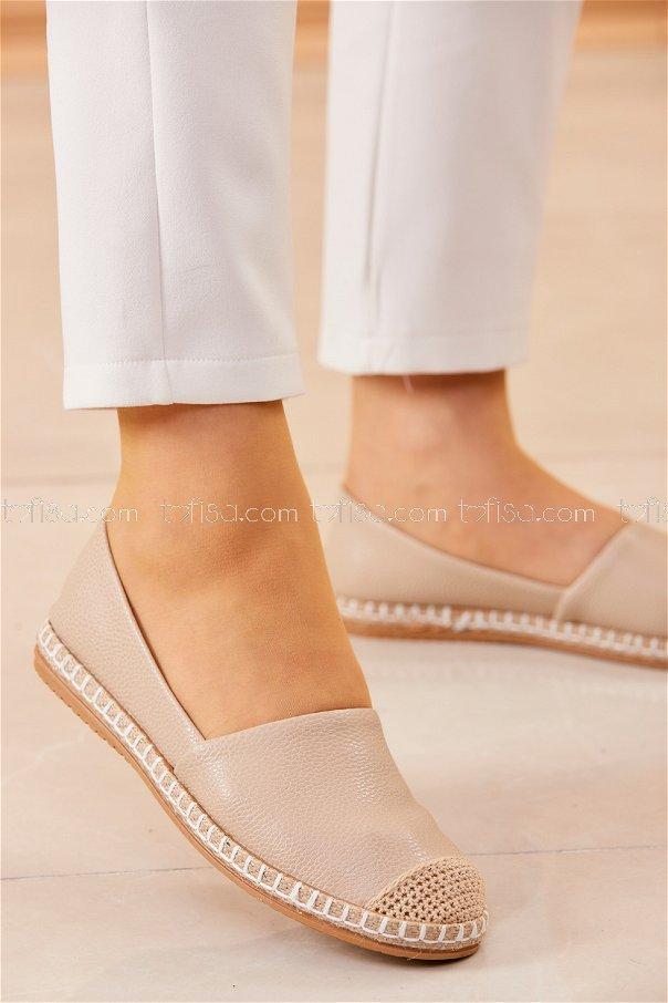 Babet Ayakkabı KREM - 20412