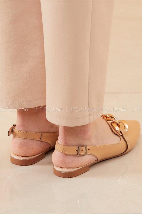 Babet Ayakkabı KREM - 20532
