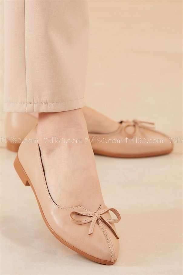 Babet Ayakkabı KREM - 20536